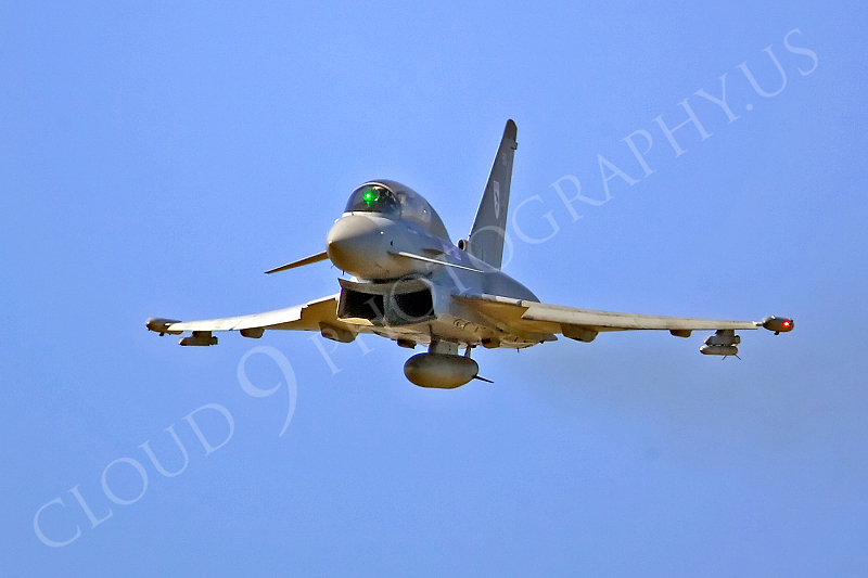 Eurofighter Typhoon 00016 Eurofighter Typhoon British RAF by Tony Fairey