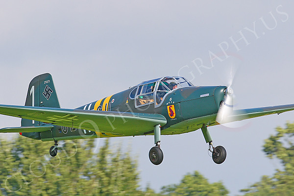 WB - Bucker Bu-181 B-1 Bestmann 00008 by Tony Fairey