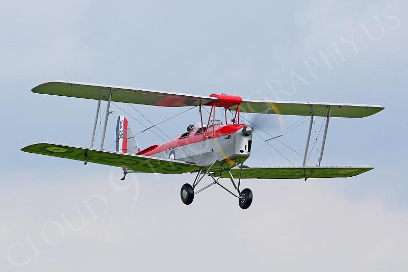 WB - de Havilland DH 82 Tiger Moth 00012 by Tony Fairey