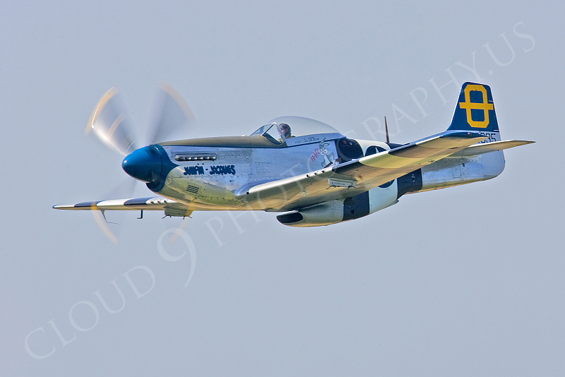 WB - North American P-51D Mustang 00030 North American P-51D Mustang Jumpin Jacques by Tony Fairey