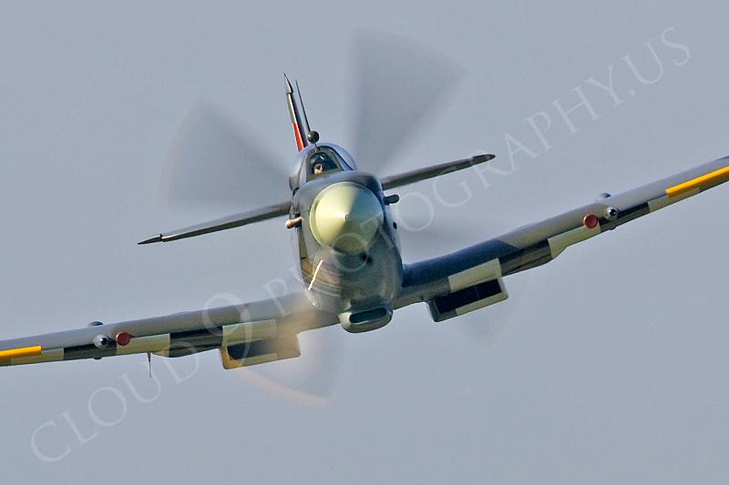 WB - Vickers-Supermarine Spitfire 00015 by Tony Fairey