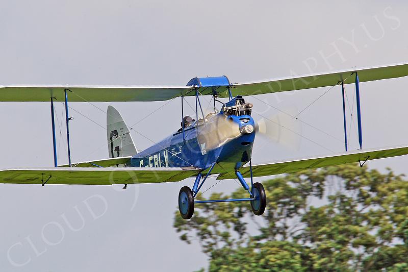 CIW - 1925 de Havilland DH60 Moth G-EBLV 00004 by Tony Fairey
