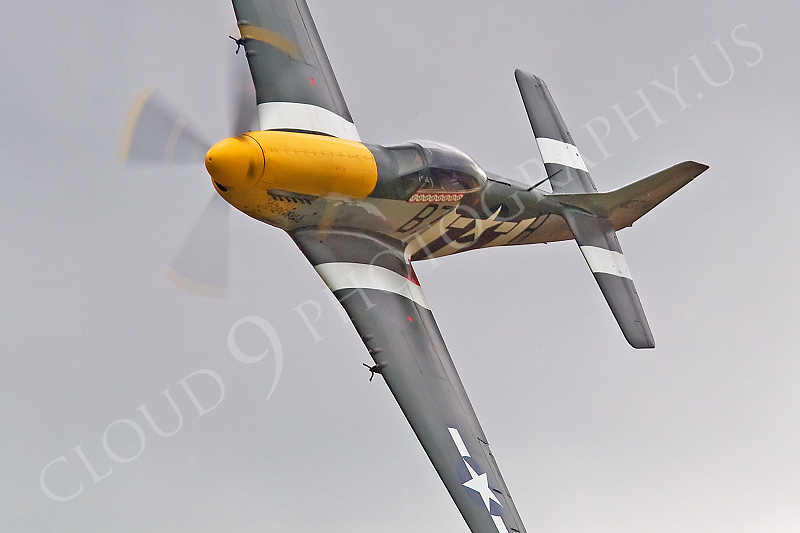 WB - North American P-51D Mustang 00054 North American P-51D Mustang Ferocious Frankie by Tony Fairey