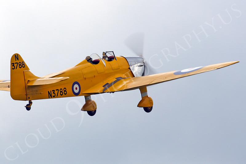 WB - Miles M14A Hawk Trainer 3 00006 British RAF by Tony Fairey