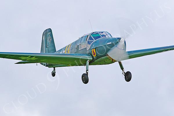WB - Bucker Bu-181 B-1 Bestmann 00006 by Tony Fairey