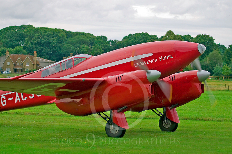 de Havilland DH 88 Comet 00003 Grosvenor House by Tony Fairey