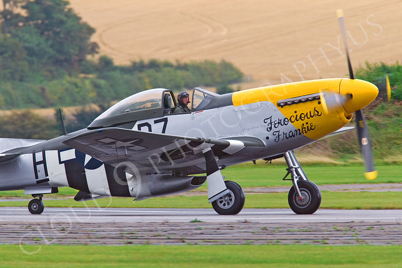 WB - North American P-51D Mustang 00007 North American P-51D Mustang Ferocious Frankie by Tony Fairey