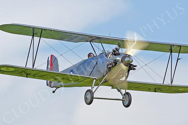 WB - Hawker Tomtit 00004 Hawker Tomtit British RAF by Tony Fairey