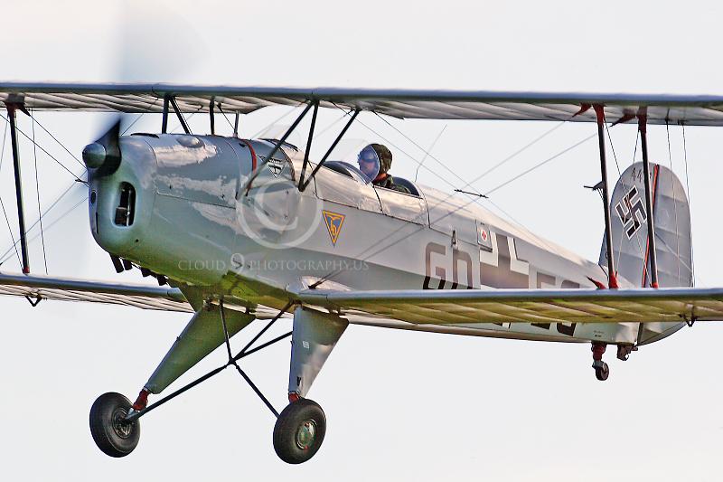 WB - CASA 1 13E Jungmann 00006 CASA 1 13E Jungmann German World War II Air Force by Tony Fairey