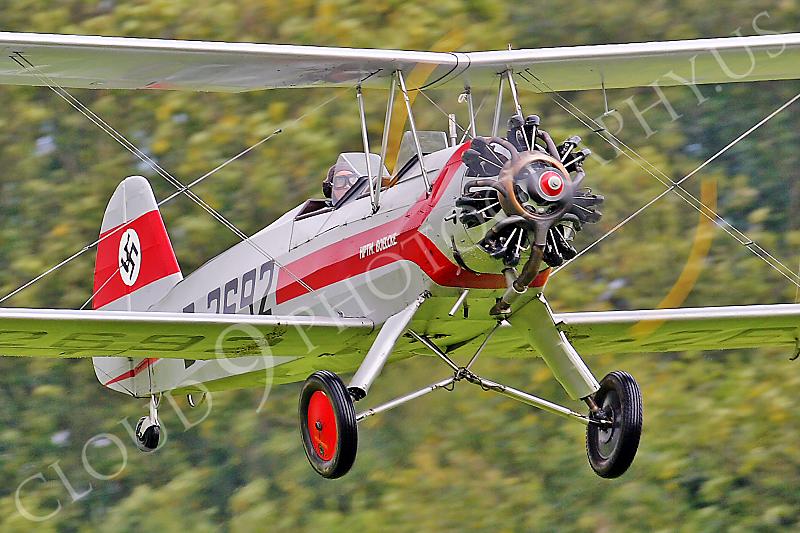 WB - Focke-Wulf Fw 44 Stieglitz D-2692 00008 by Tony Fairey