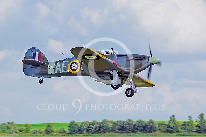 WB-Hawker Hurricane 00010 British Royal Air Force by Tony Fairey