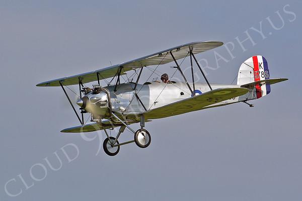 WB - Hawker Tomtit 00010 Hawker Tomtit British RAF by Tony Fairey