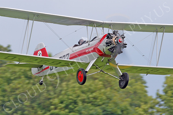WB - Focke-Wulf Fw 44 Stieglitz D-2692 00030 by Tony Fairey