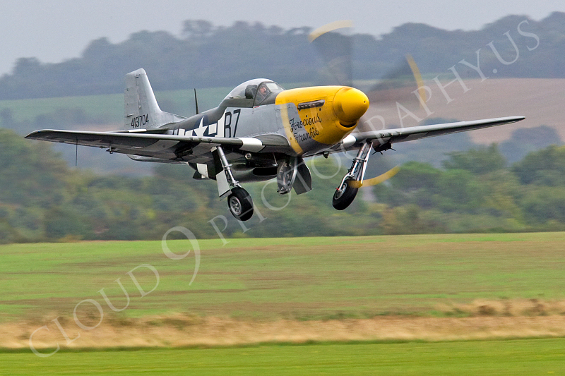 WB - North American P-51D Mustang 00034 North American P-51D Mustang Ferocious Frankie by Tony Fairey