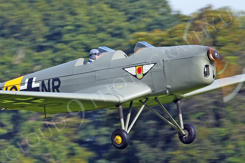 CUNWB 00050 Klemm KI-35D by Tony Fairey