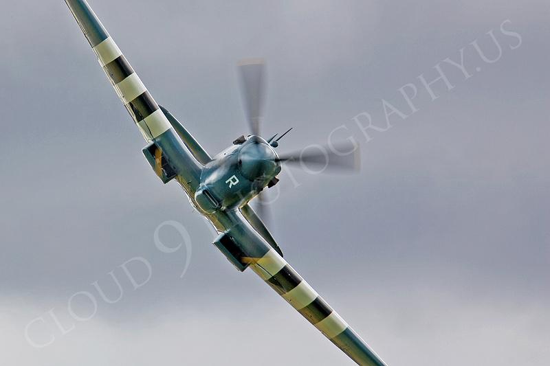 WB - Vickers-Supermarine Spitfire 00170 by Tony Fairey