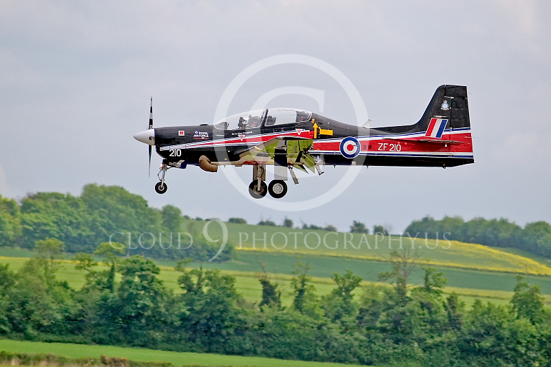 EMBRAER EMB-312 Tucano 00002 British Royal Air Force by Tony Fairey