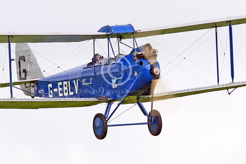 CIW - 1925 de Havilland DH60 Moth G-EBLV 00028 by Tony Fairey