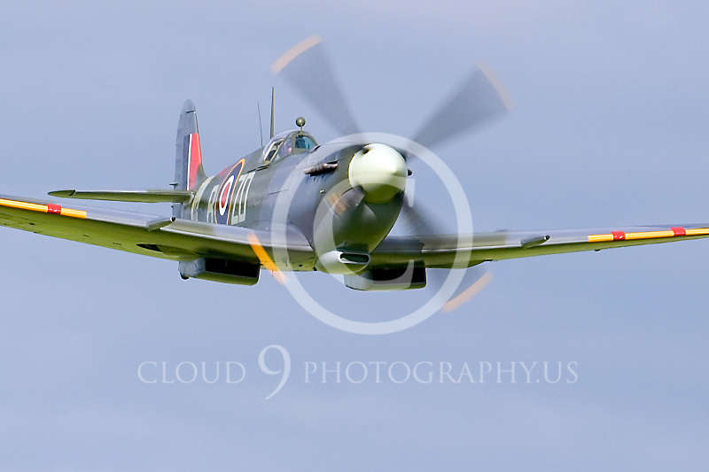 WB-Vickers-Supermarine Spitfire 00038 British Royal Air Force by Tony Fairey