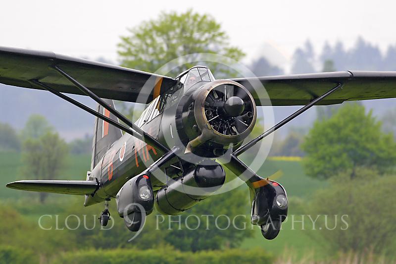 WB-Westland Lysander 00026 British Royal Air Force by Tony Fairey