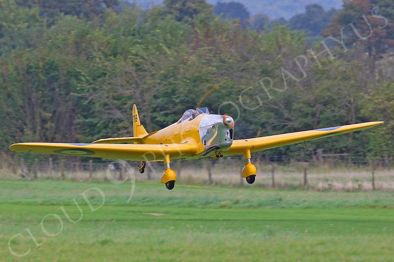 WB - Miles M14A Hawk Trainer 3 00004 British RAF by Tony Fairey