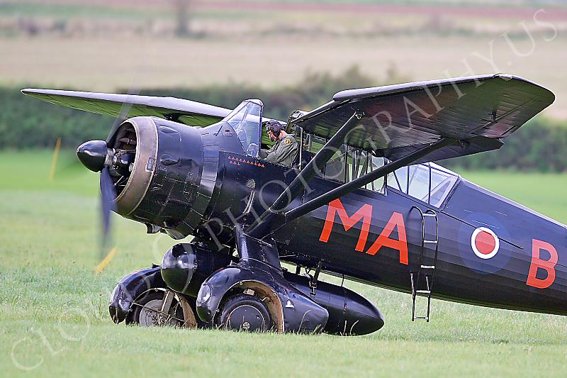 CUNWB 00021 Westland Lysander British RAF by Tony Fairey
