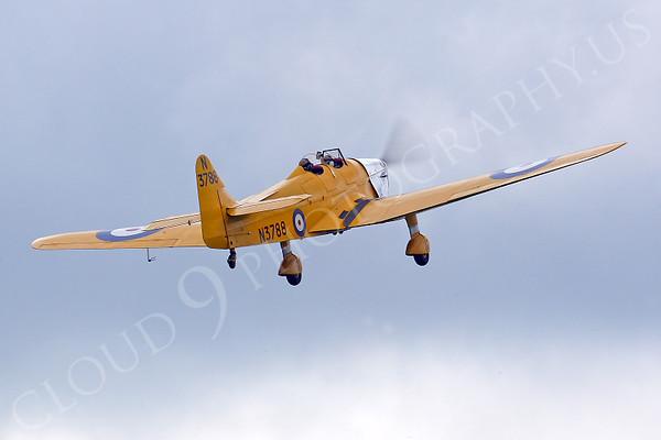 WB - Miles M14A Hawk Trainer 3 00008 British RAF by Tony Fairey