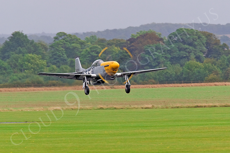 WB - North American P-51D Mustang 00090 North American P-51D Mustang Ferocious Frankie by Tony Fairey