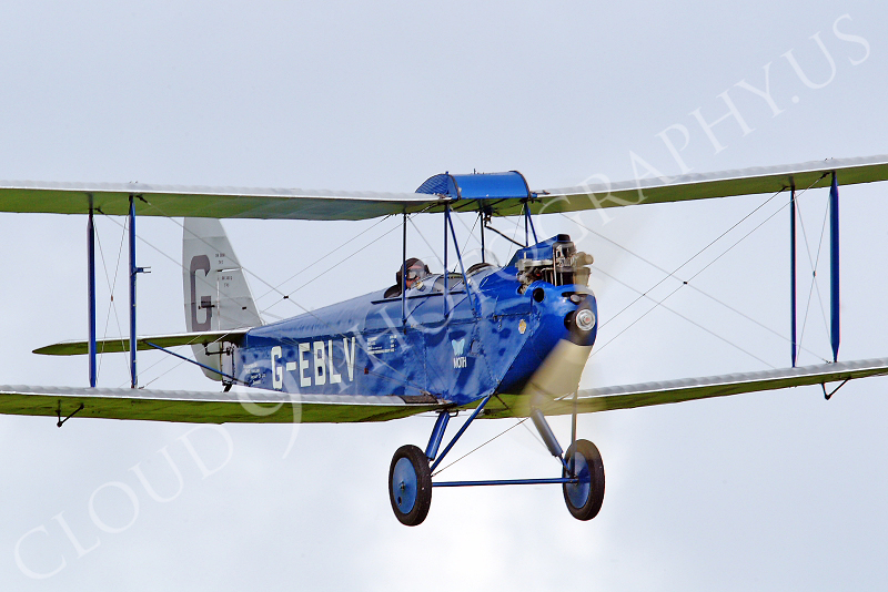 CIW - 1925 de Havilland DH60 Moth G-EBLV 00016 by Tony Fairey