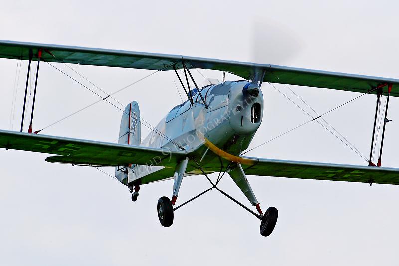 WB - CASA 1 13E Jungmann 00004 CASA 1 13E Jungmann German World War II Air Force by Tony Fairey