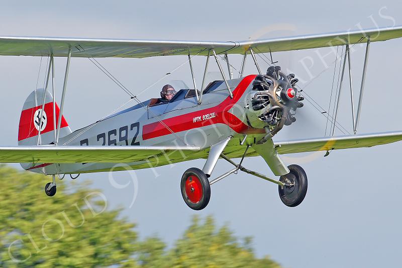WB - Focke-Wulf Fw 44 Stieglitz D-2692 00022 by Tony Fairey