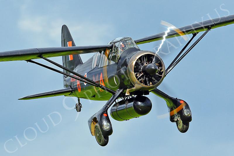 WB - Westland Lysander 00062 Westland Lysander British RAF by Tony Fairey