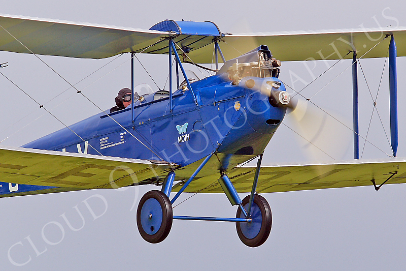 CIW - 1925 de Havilland DH60 Moth G-EBLV 00026 by Tony Fairey