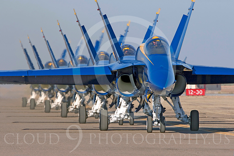 BA-F-18 00011 Boeing F-18 Hornet US Navy Blue Angels by Joseph D Kates