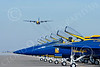 BA-F-18 00050 Boeing F-18 Hornet US Navy Blue Angels by Joseph D Kates