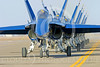 BA-F-18 00103 Boeing F-18 Hornet US Navy Blue Angels by Joseph D Kates
