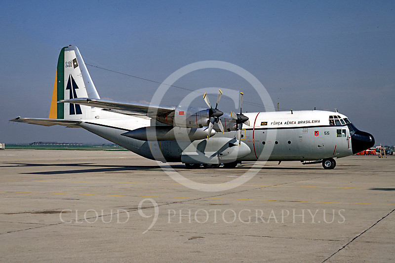 C-130Forg 00103 Lockheed C-130 Hercules Brazilian Air Force 2455 by Ray Leader
