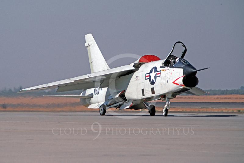 RF-8USN 00003 Vought RF-8G Crusader October 1991 by Peter B Lewis