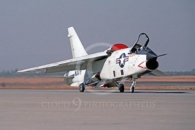RF-8USN 00003 Vought RF-8G Crusader October 1991 by Peter B Lewis