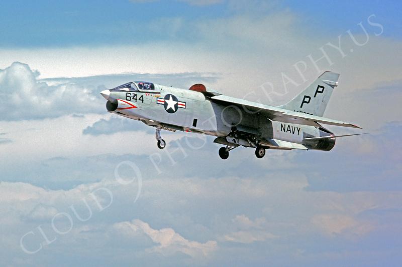 RF-8USN 00004 Vought RF-8G Crusader VFP-63 USN 27 July 1978 by Peter B Lewis