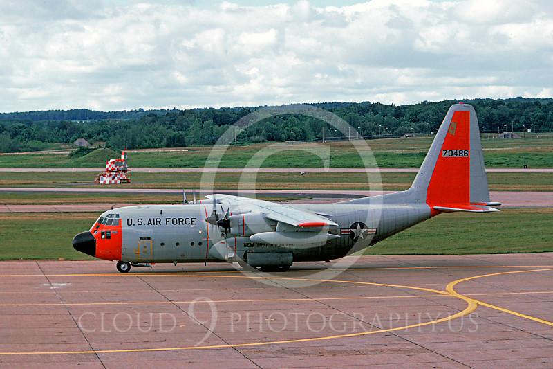 C-130ANG 00039 Lockheed C-130 Hercules NewYork Air National Guard 70486 October 1978 by Ron McNeil