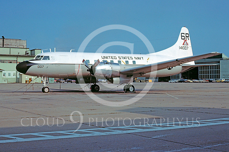 C-131USN 00009 Convair C-131 Samaritan US Navy 141007 August 1977 by Ron McNeil
