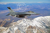 F-16ANG 00018 Lockheed Martin F-16 Fighting Falcon California ANG 80611 by John E Peterson