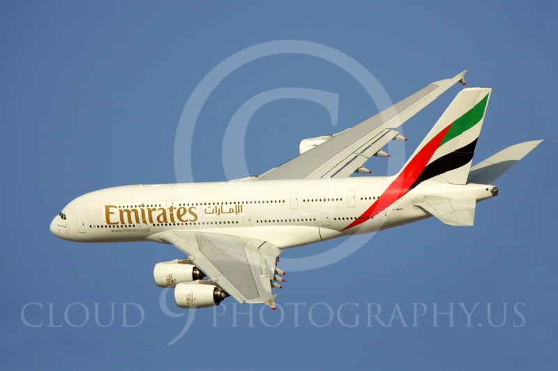 A380 00014 Airbus A380 Emirates by Paul Ridgway