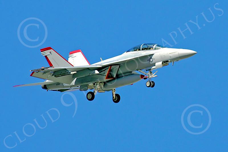 Boeing F-18F - USN 00038 Boeing F-18F Super Hornet US Navy 165166 by Paul Ridgway