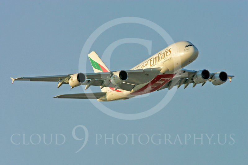 A380 00010 Airbus A380 Emirates by Paul Ridgway