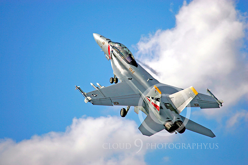 Boeing F-18E - USN 00004 Boeing F-18E Super Hornet US Navy VFA-2 by Paul Ridgway