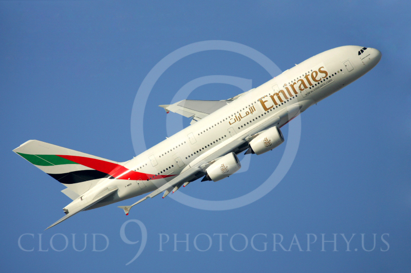 A380 00004 Airbus A380 Emirates by Paul Ridgway