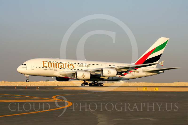 A380 00001 Airbus A380 Emirates by Paul Ridgway