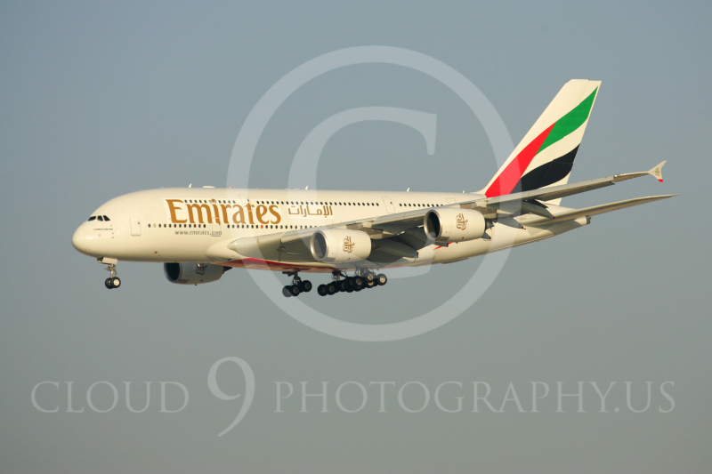 A380 00022 Airbus A380 Emirates by Paul Ridgway